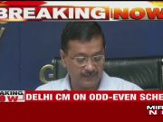 Delhi: CM Arvind Kejriwal briefs media on odd-even scheme, to start from November 4