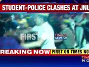 Delhi: JNU students' protest turns violent