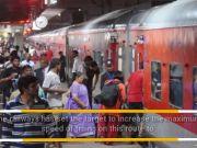 Delhi-Mumbai in 10 hours by train?