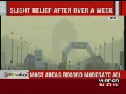 Delhi pollution level reduces slightly as air quality improves