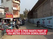 Delhi: PWD wants part of INA metro station demolished