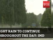 Delhi rains: Heavy showers lash several parts of NCR