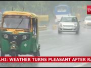Delhi rains: Weather turns pleasant after downpour, showers expected to continue till July 25