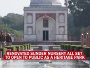 Delhi: Sunder Nursery all set to debut as a heritage park