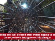 Digging work in full swing at two tunnelling sites at Shivajinagar and Swargate of Pune Metro