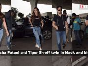 Disha Patani and Tiger Shroff's travel diary is all about twinning, style and comfort!