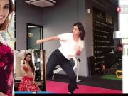 Disha Patani shares her fitness video, Tiger Shroff praises her effort