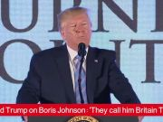 Donald Trump on Boris Johnson: 'They call him Britain Trump'