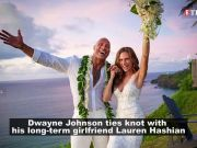 Dwayne 'The Rock' Johnson marries girlfriend Laura Hashian in secret Hawaiian wedding