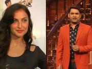 Elli Avram enjoys working with Kapil Sharma