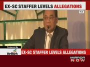 Ex-SC staffer alleges sexual harassment by CJI