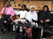 Families of arrested militants demand fair trial