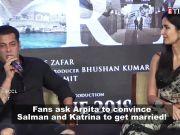 Fans request Arpita Khan Sharma to convince Salman Khan and Katrina Kaif to get married