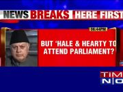 Farooq Abdullah unfit for ED, fit for Parliament?