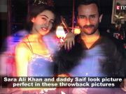 Father's Day: Sara Ali Khan shares the cutest throwback pictures with father Saif Ali Khan
