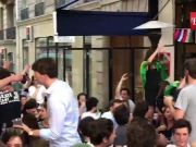 FIFA 2018: Brazilian fans enter in a friendly banter with the French