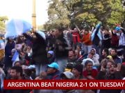 FIFA 2018: Messi, Rojo rekindle Argentinian hopes