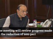 Finance minister Arun Jaitley to meet PSU bank chiefs on September 25
