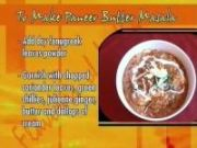 Flavours of India Recipe : Paneer Butter Masala