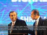 For the 11th year in a row, Mukesh Ambani keeps salary capped at Rs 15 crore