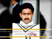 Former Test captain Anil Kumble turns 48