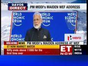 Full video: PM Modi's historic keynote address at WEF in Davos
