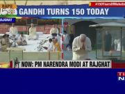 Gandhi Jayanti: PM pays tribute to Mahatma at Raj Ghat