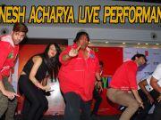 Ganesh Acharya performs live