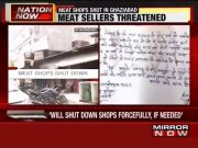 Ghaziabad: Fringe group demands ban on meat sale during Navratri
