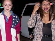 Girls' night out! Priyanka Chopra and Sophie Turner turn heads as they dine out