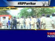 Goa bids last goodbye to late Goa CM Manohar Parrikar