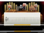 Google celebrates composer Johann Sebastian Bach with a doodle