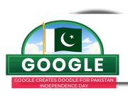 Google celebrates Pakistan Independence Day through doodle