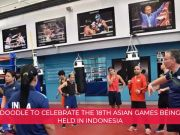 Google Doodle: Google celebrates the 2018 Asian Games