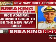 Govt appoints Vice Admiral Karanbir Singh as new Navy chief