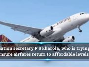 Govt to decide on Jet's int'l flying rights soon: PS Kharola