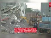 Greater Noida: Two six-storey building collapses, dozens feared trapped