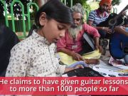 Guitar Rao: Civil engineer turns music teacher for Rs 1 per day