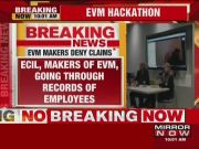 Hacker was never on design team, EVM makers tell EC