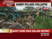 Hampi: 16 pillars collapse due to heavy rains