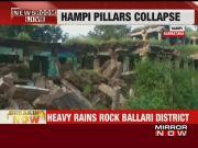 Hampi: 16 pillars collapse due to heavy rains