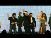 Happy Ending music launch: Govinda, Saif shake a leg