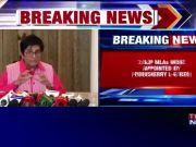 HC upholds nomination of three BJP MLAs by Puducherry LG Kiran Bedi