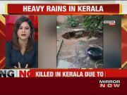 Heavy rains lead to flood-like situation in Kerala, 3 killed