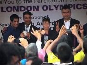 Heroes of London Olympics 2012 Felicitated