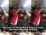 'Housefull 4' on wheels: Akshay Kumar, Kriti Sanon and the cast play Antakshari, enjoy train ride from Mumbai to Delhi