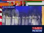 #HowdyModi: Artists enthrall audience with Tagore's 'Ekla Chalo Re'