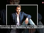 Hrithik Roshan named as 'Most Handsome Man in the World'; Shilpa Shetty reveals why she rejected Rs 10 crore deal, and more…