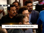 Hrithik Roshan rejects Hollywood movie