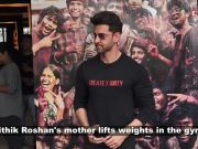 Hrithik Roshan's mom adds twist to the boring workout, dances on a song from 'Super 30'